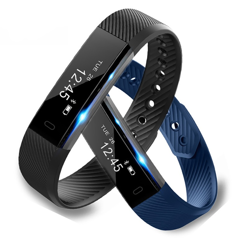 Smart Bracelet Fitness Tracker Step Counter Activity Monitor4